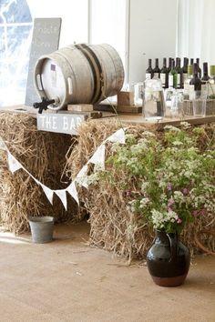 an English country fete wedding in Cornwall | uk wedding blog
