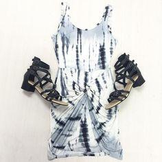 Tye Dye Body Con #Dress #dressy #casual #dressy #dyes #chic #unique #knot #cute #trendy #style #ootd #bodycon #bodycondress #casualcute #clubwear #casualwear #summerdress #summer #fashion #oufitoftheday #style #trendy #blackandwhite #boho #bohochic