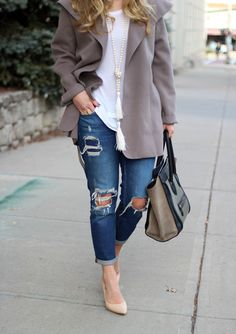 STYLE // Draped Coat - Style CuspStyle Cusp