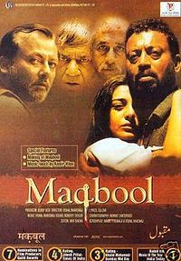 Maqbool [videorecording] / (2003)  a Yash Raj Films release ; a Kaleidescope Entertainment Pvt. Ltd. production in association with Vishal Bhardwaj Pictures Pvt. Ltd. ; screenplay, Abbas Tyrewala, Vishal Bhardwaj ; producer, Bobby Bedi ; director, Vishal Bhardwaj.