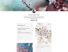 Spring - Two Column Tumblr Theme http://rosea.io/themes/spring-tumblr-theme/ #tumblr #tumblrtheme #web #ui #portfolio #gallery #photographer #inspire #themeforest