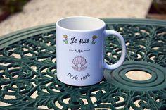 Le mug/Tasse Je suis une perle rare Cadeau amie témoin soeur