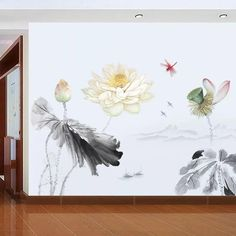 Lotus Flower Wall Decals – the treasure thrift