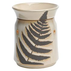 Fossil Fern Full-Size  Warmer PREMIUM  Your Price: $28.00  To Order: https://wabramson.scentsy.us/Scentsy/Buy/ProductDetails/DSW-FERN