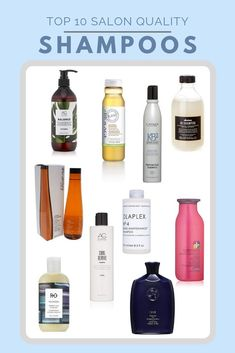 We checked out the most luxurious hair brands on the market for our Top 10 absolute favorite salon quality shampoos for all different types of women's hair. Sleep Hairstyles, Spring Hairstyles, Dry Brittle Hair, Help Hair Grow, Shampoo For Curly Hair, Clary Sage Essential Oil, Healthy Hair Tips, Hair Thickening, Best Shampoos