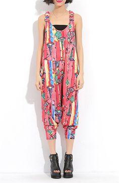 Tuta Pantaloni Donna Elegante - LATH.PIN Baggy Hip Hop Harem Danza Pantaloncini Lunghi Estiva ragazza alla Moda: Amazon.it: Abbigliamento