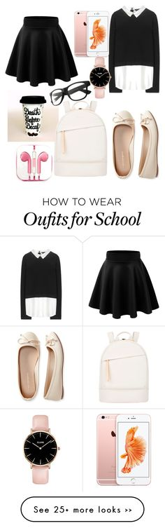 """School"" by yana06 on Polyvore featuring Alice + Olivia, Aéropostale, PhunkeeTree and Want Les Essentiels de la Vie"