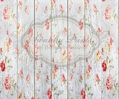 Rose Painted Textured Wood - Oz Backdrops and Props