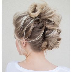 Braided Mohawk   we ❤ this!  itsabrideslife.com   #weddinghair #weddingupdo