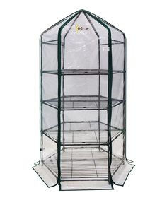 Take a look at this Four-Tier Hexagonal Planthouse today!