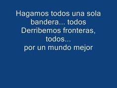 Bandera de manos - Juanes