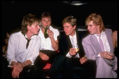 John Taylor Daily - Nick Rhodes' 21st Birthday Party, 1983