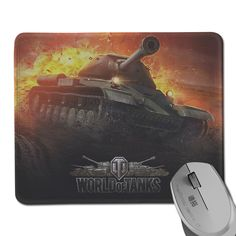 2ecaf28b4 New World of tanks mouse pad Hot sales mousepad laptop mouse pad notbook  computer gaming mouse pad gamer play mats