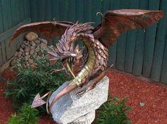 Martin Recycled metal sculpture