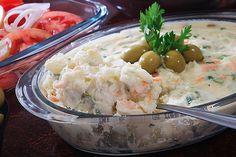 Maionese de legumes para churrasco