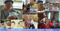 Share the collection of all your best photos on Facebook. These photos show the true experience of your well lived life!