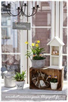 Oma koti onnenpesä: Kesähuoneen kevät