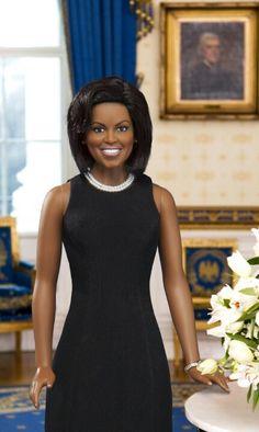 Wax likeness of Michelle