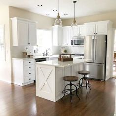 48 Cool Small Kitchen Design With Island 48 Cool Small Kitc. 48 Cool Small Kitchen Design With Island 48 Cool Small Kitchen Design With Island Home Decor Kitchen, New Kitchen, Home Kitchens, Kitchen Ideas, Kitchen Counters, Kitchen Cabinetry, Kitchen Furniture, 10x10 Kitchen, Wood Furniture