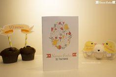 Cartão para Bodas de Pintinhos   Material gratuito disponível no blog Nossas Bodas