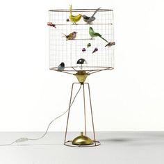 La Volière Birdcage Tall Table Lamp | Beaumonde – Beaumonde ®