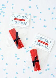 Mini Diploma Treats & Free Printable! - Honest To Nod