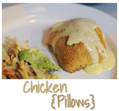 Chicken Pillows for dinner by The Jones Way Blog