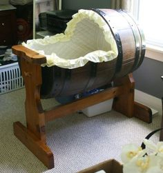 Drunk baby cot