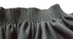 The skirt is gathered closely together on the back and is in wide pleated front. It is made of a felt-like wool. Norway, Felt, Wool, Skirts, Sweaters, Fashion, Moda, Felting, Feltro