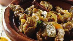 En velduftende marokkansk gryte med eksotiske krydder, tilberedes i tradisjonsrik leirgryte. Couscous, Casserole Recipes, Food Inspiration, Crockpot, French Toast, Beef, Breakfast, Crock Pot Recipes, Meat