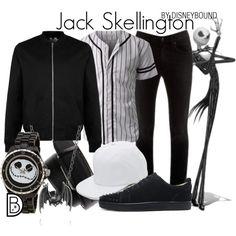 Disney Jack Skellington The Nightmare Before Christmas El Extraño Mundo de Jack Disney outfit men Disney fashion men