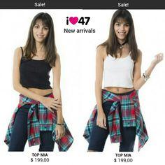 No sabías?? Bueno ahora te enterás. 47 street tiene una colección de Esperanza Mia. http://www.47street.com.ar/store/esperanza-mia.html .  SALE!