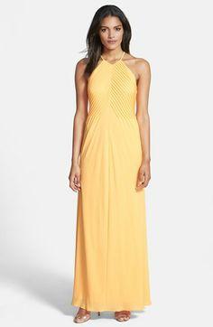 Ted Baker London Pintuck Maxi Dress | Nordstrom