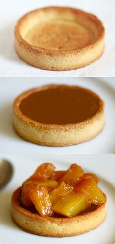 Tart with Milk Chocolate, Passion Fruit, and Roasted Pineapple | foodbeam