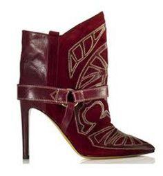Isabel Marant es la responsable de la fiebre por el Lejano Oeste de la temporada. Arrasan estos botines estilo cowboy con un tacón de 10,50 cm.