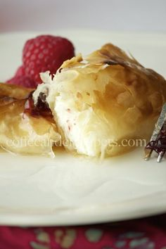 Kunafah Rolls: Phyllo rolls filled with orange blossom water scented cream