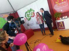 SG Comunciacion - CyLTV entrevistando al alcalde