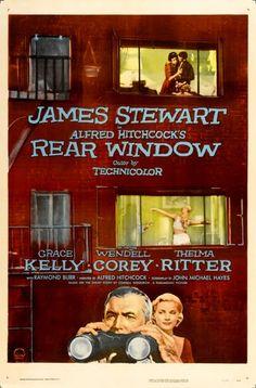 Rear Window....1954 Premiered 1 August 1954