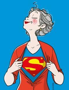 Cadeau Super Mamie | Rigolobo - Rigolobo
