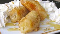 Receta- Plátano frito con miel al estilo restaurante chino, muy fácil y rico!