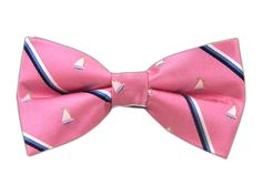 A sailing bowtie would be appropriate for on The Point... especially if you are on the Sailing Team!