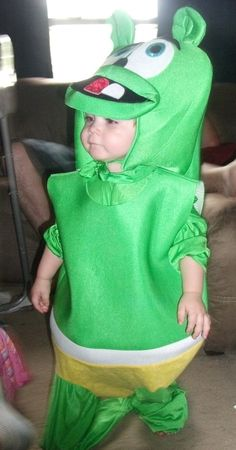 Kyle in his new Gummy Bear costume that just came from Greece! gummibar