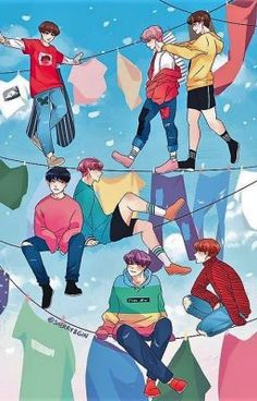 Find images and videos about kpop, bts and jungkook on We Heart It - the app to get lost in what you love. Bts Lockscreen, Bts Anime, Anime Guys, Wallpaper Animes, Kawaii Wallpaper, Hd Wallpaper, Bts Wallpapers, Bts Backgrounds, Bts Spring Day
