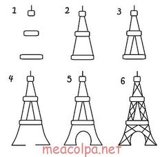 Paris cupcake toppers – the decorated cookie ooh la la…Paris cupcakes Paris Cupcakes, Decorated Cupcakes, Doodle Drawings, Easy Drawings, Pencil Drawings, Dragon Drawings, Drawing Lessons, Art Lessons, Drawing Tips