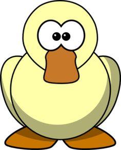 Cartoon Duck Clip Art Felt Crafts, Wood Crafts, Paper Crafts, Cute Cartoon, Cartoon Art, Farm Animals, Funny Animals, Diaper Babies, Farm Party