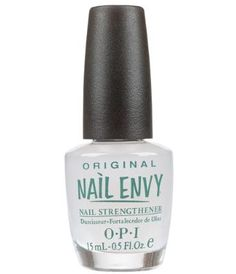 OPI Nail Envy- the best thing for your nails. ever. EVER!!!!  12/21/12 I can't believe the difference in my nails after using this for only one week!!! I'm sold!!!