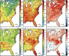 """How Bad Will Climate Change Get for the Eastern U.S.? Look at These Crazy Maps: """"Cleveland has it the worst, with a heat wave temperature increase of 3.71 degrees Celsius"""""""