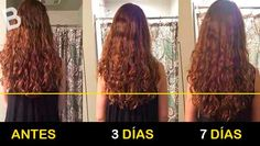 Si quieres que tu cabello crezca más rápido, en solo 7 días, ¡apunta este tratamiento casero! ¡no te lo puedes perder!