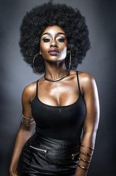 Black is Beautiful and sexy Black Girls Rock, Black Girl Magic, Dark Skin, Brown Skin, Curly Hair Styles, Natural Hair Styles, Twisted Hair, Pelo Afro, Pelo Natural