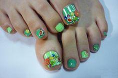 Summer Toes - Nail Art